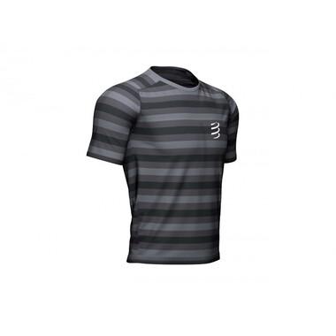 T-Shirt COMPRESSPORT PERFORMANCE Manches Courtes Noir/Gris 2020